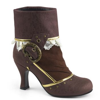 Ankle Boots  MATEY-115 - Brown