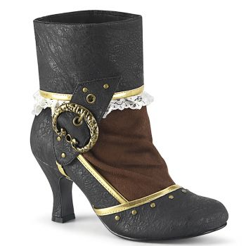 Ankle Boots  MATEY-115 - Brown/Black