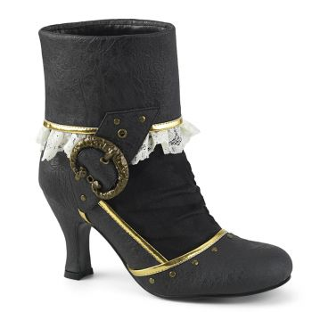 Ankle Boots  MATEY-115 - Black