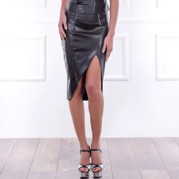 Pencil skirt MELODIE with walking slit