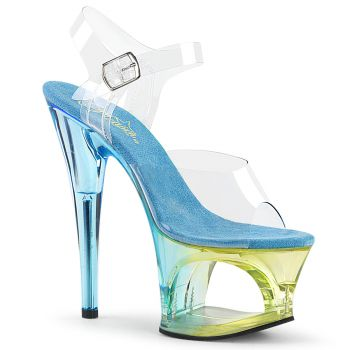 High Heels Sandal MOON-708MCT - Light Blue