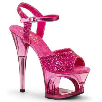 Platform High Heels MOON-710GT - Pink
