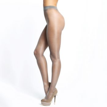 Crotchless Tights P101 - Grey*