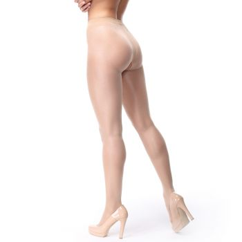 Crotchless Tights P102 - Beige*