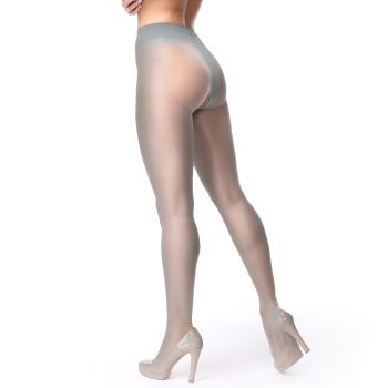 Crotchless Tights P102 - Grey*