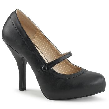 Mary Janes PINUP-01 - PU Black