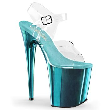 Extreme Platform Heels FLAMINGO-808 - Turquoise