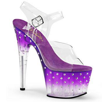 Platform sandal STARDUST-708T - Purple