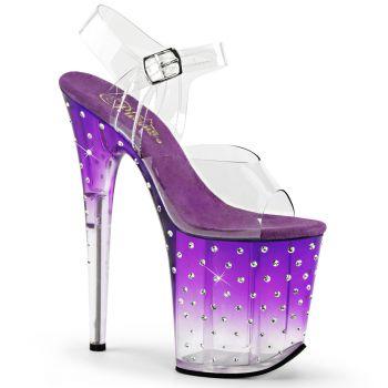 Platform sandal STARDUST-808T - Purple