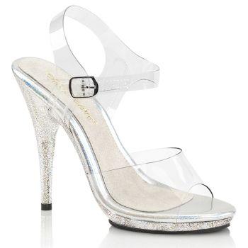 High-Heeled Sandal POISE-508MG - Clear