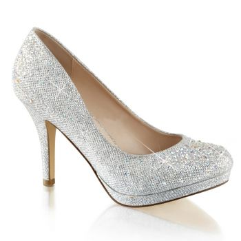 Pumps COVET-02 - Silver*