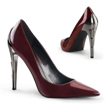 Pumps VOLTAGE-01 - Patent Burgundy*