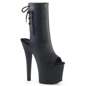 Platform Ankle Boots RADIANT-1018 - PU Black