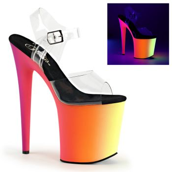 Platform High Heels RAINBOW-808UV