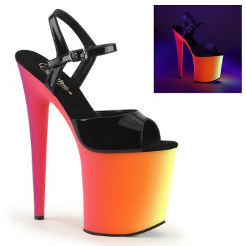 Platform High Heels RAINBOW-809UV - Patent