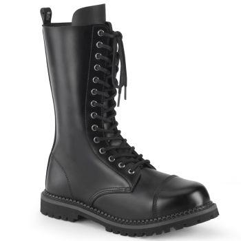 Men Boots RIOT-14 - Leather Black*
