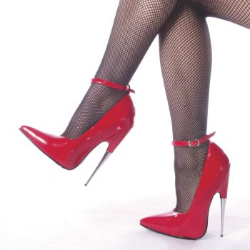 Fetish Heels SCREAM-12 - Patent Red