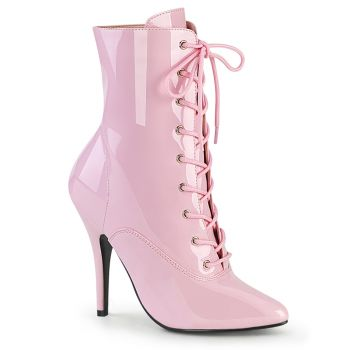 Ankle Boots SEDUCE-1020 - Patent Baby Pink