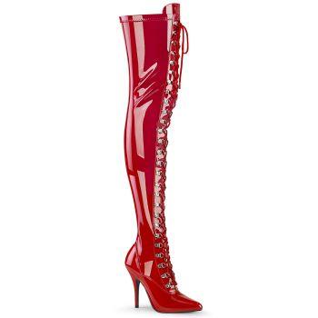 Overknee Boots SEDUCE-3024 - Patent Red*
