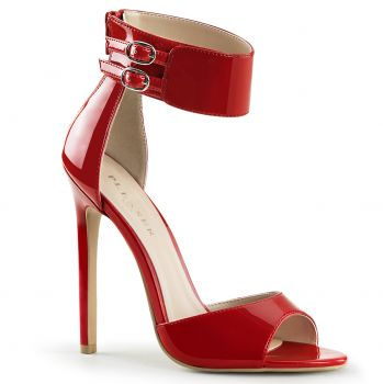 Stiletto Sandal SEXY-19 - Patent Red