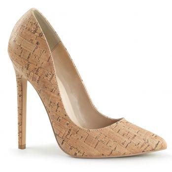Stiletto High Heels SEXY-20 - PU Cork Design