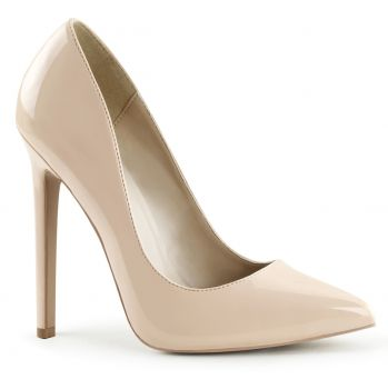Stiletto High Heels SEXY-20 - Patent Nude