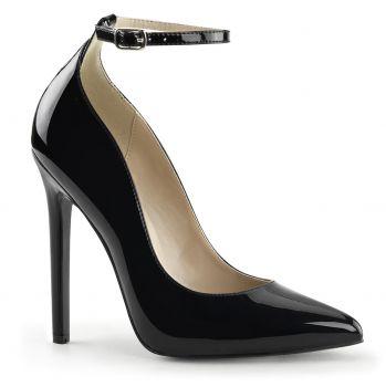 Stiletto Pumps SEXY-23 - Patent black