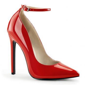 Stiletto Pumps SEXY-23 - Patent Red