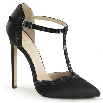 D'Orsay Pumps SEXY-25 - Satin Black