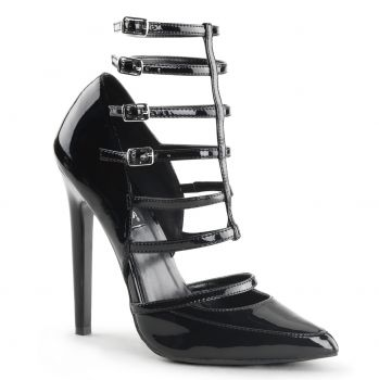 Stiletto Pump SEXY-29 - Patent Black