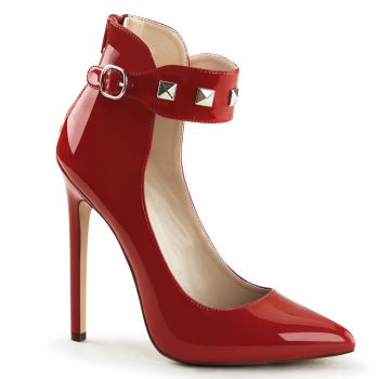 Stiletto SEXY-31 - Patent red