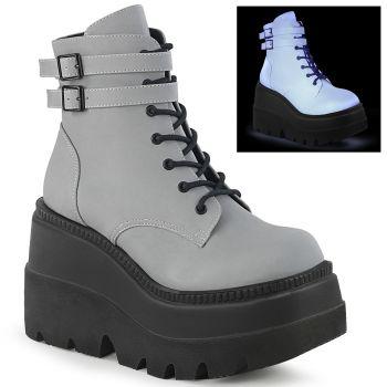 Platform Ankle Boots SHAKER-52 - Grey*