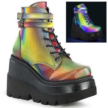 Platform Ankle Boots SHAKER-52 - Rainbow