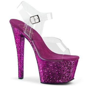 Platform High Heels SKY-308LG - Purple