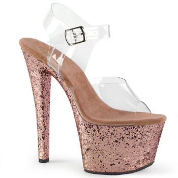 Platform High Heels SKY-308LG - Rose Gold