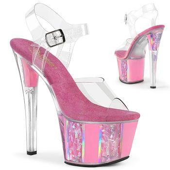 Platform High Heels SKY-308OF - Baby Pink