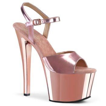 Platform High-Heeled Sandal SKY-309 - Rose Gold