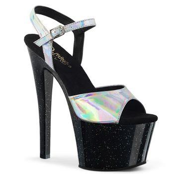 Platform High Heels Sandal SKY-309HG - Silver