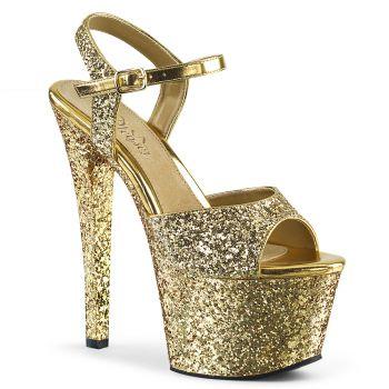 Platform High Heels SKY-310LG - Gold