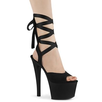 Platform High Heels SKY-334  - Black