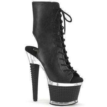 Platform Ankle Boots SPECTATOR-1016 - PU Black