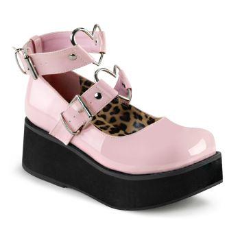 Platform Mary Jane SPRITE-02 - Patent Baby Pink