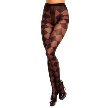 Tights DIAMOND 20 - Black