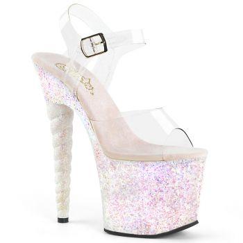 Platform High-Heeled Sandal UNICORN-708LG- Opal Pink