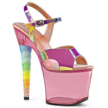 Platform High-Heeled Sandal UNICORN-711T - Pink