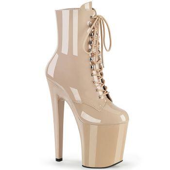 Extreme Platform Heels XTREME-1020 - Patent Nude