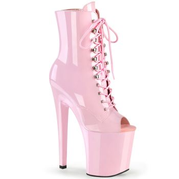Extreme Heels XTREME-1021 - Patent Baby Pink