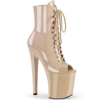 Extreme Platform Heels XTREME-1021 - Patent Nude