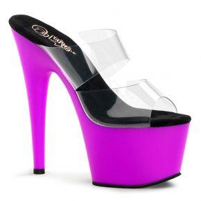 Platform High Heels ADORE-702UV - Neon Purple