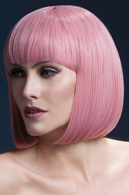 Bob Wig ELISE, medium length - Pastel Pink